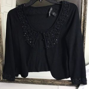 INC embellished sweater Sz M